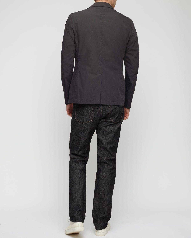 Nylon Patch Pocket Slim Jacket