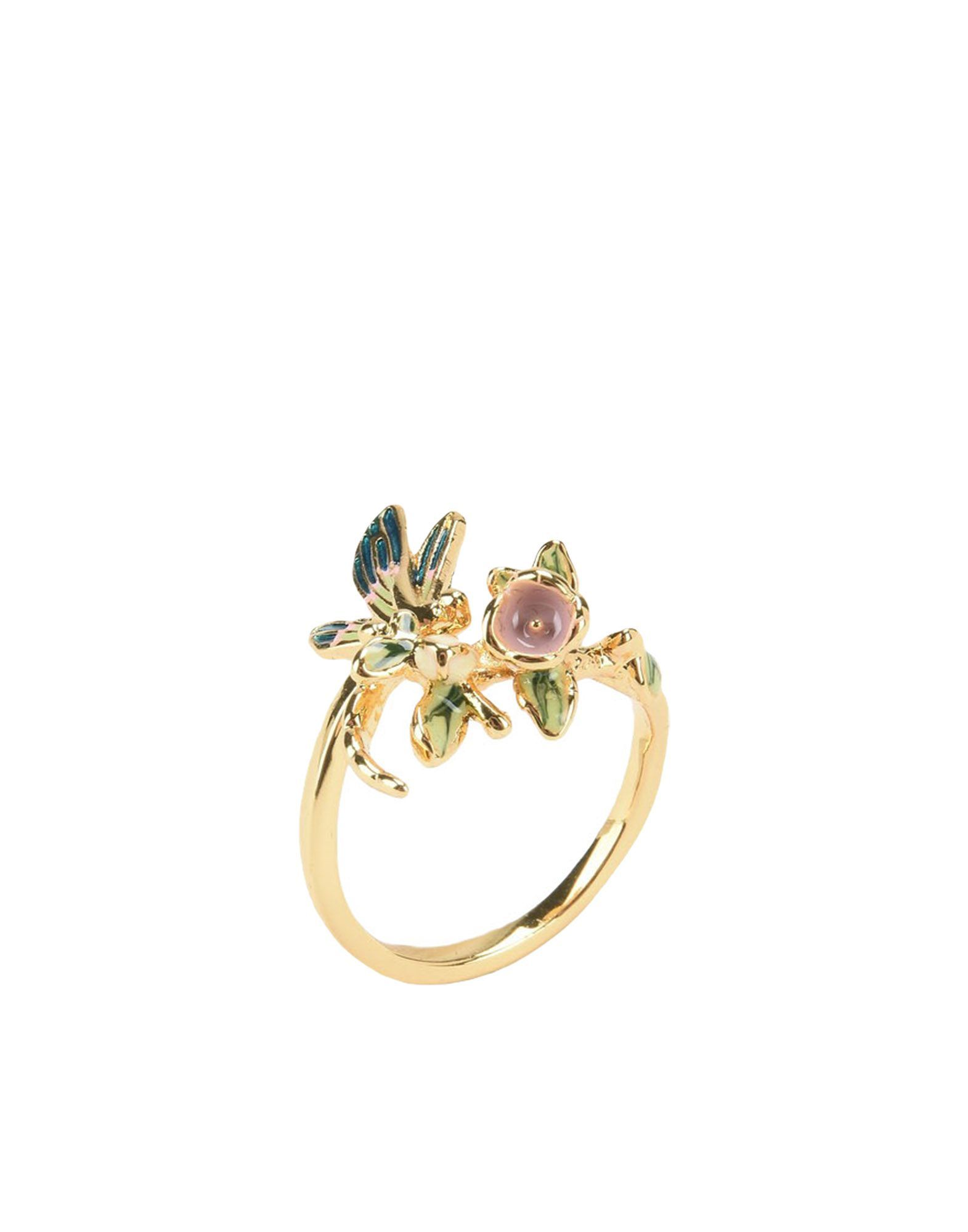 Bill Skinner Gold Plated Floral Ring