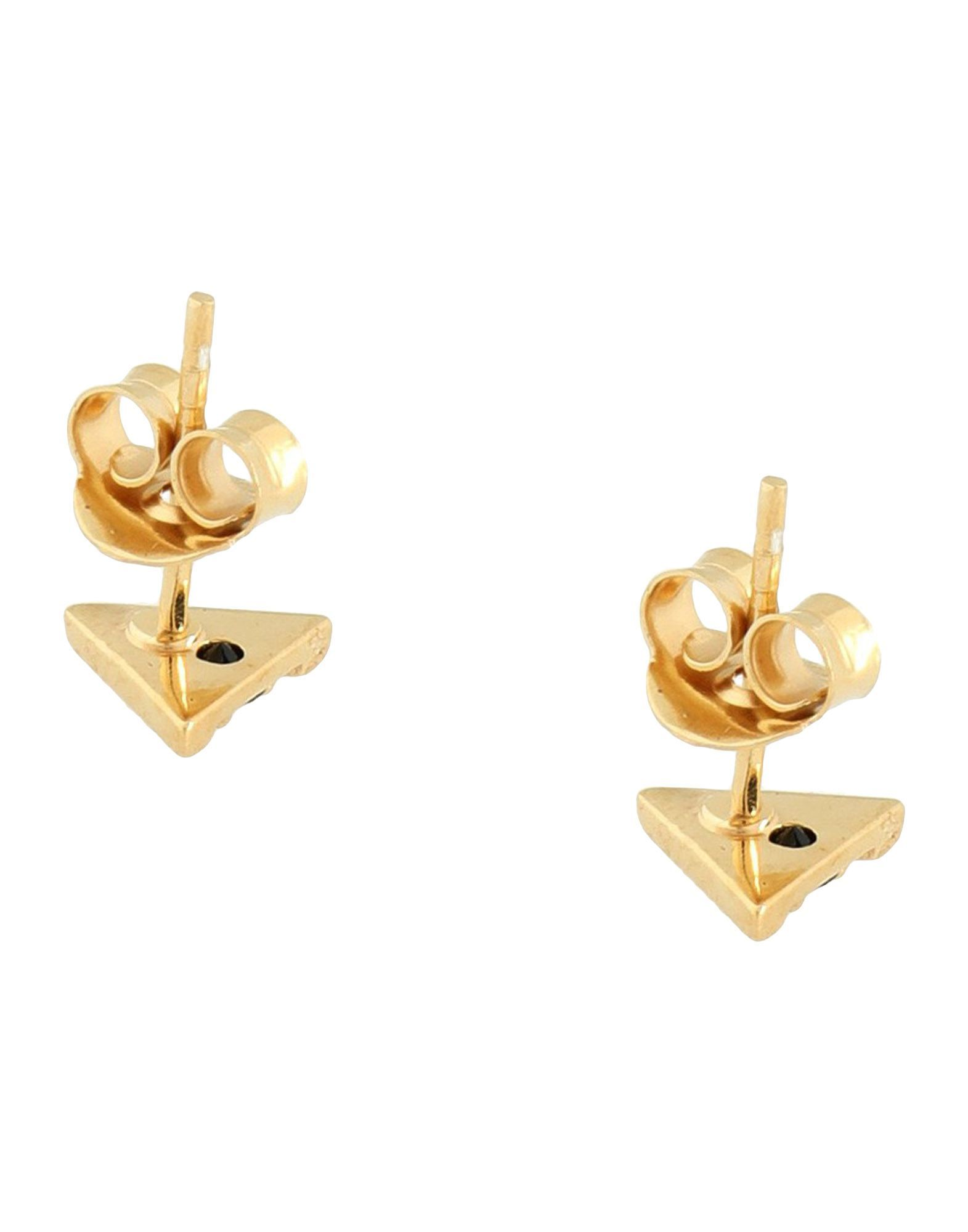 Zoe & Morgan Gold Plated 925/1000 Silver Stud Earrings