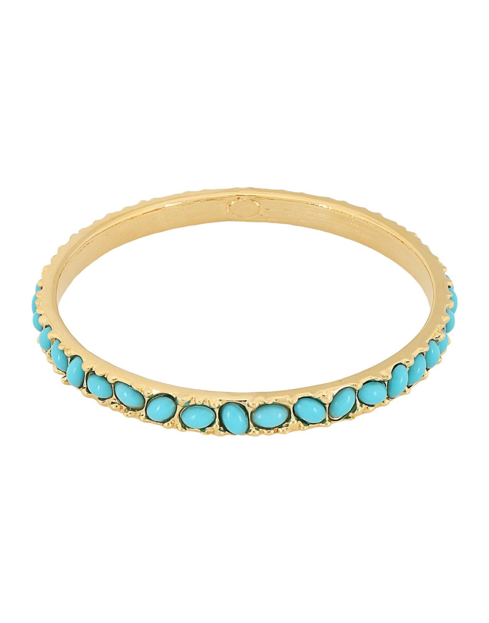 Kenneth Jay Lane Turquoise Gold Plated Bracelet