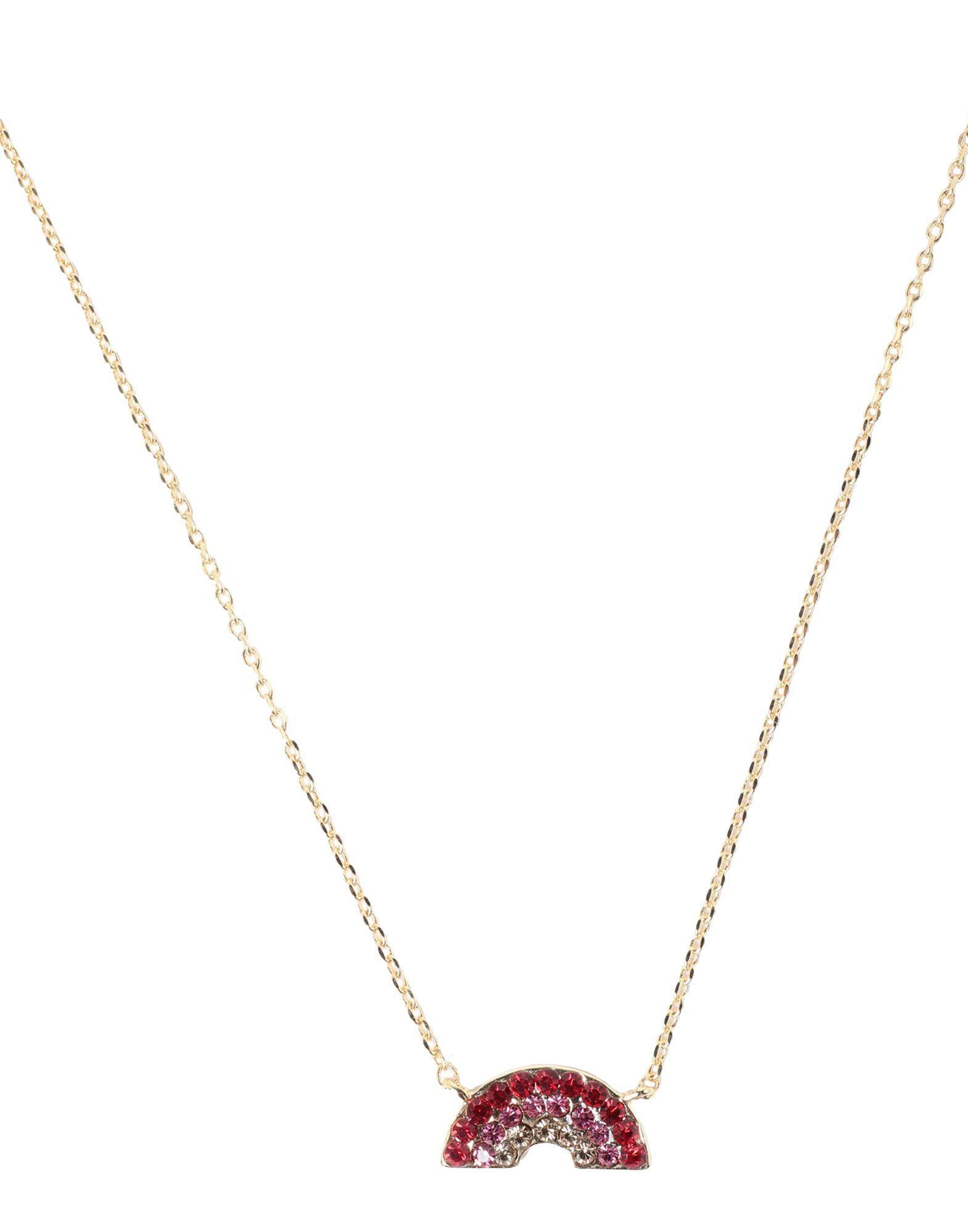 Estella Bartlett Gold Plated Rainbow Necklace
