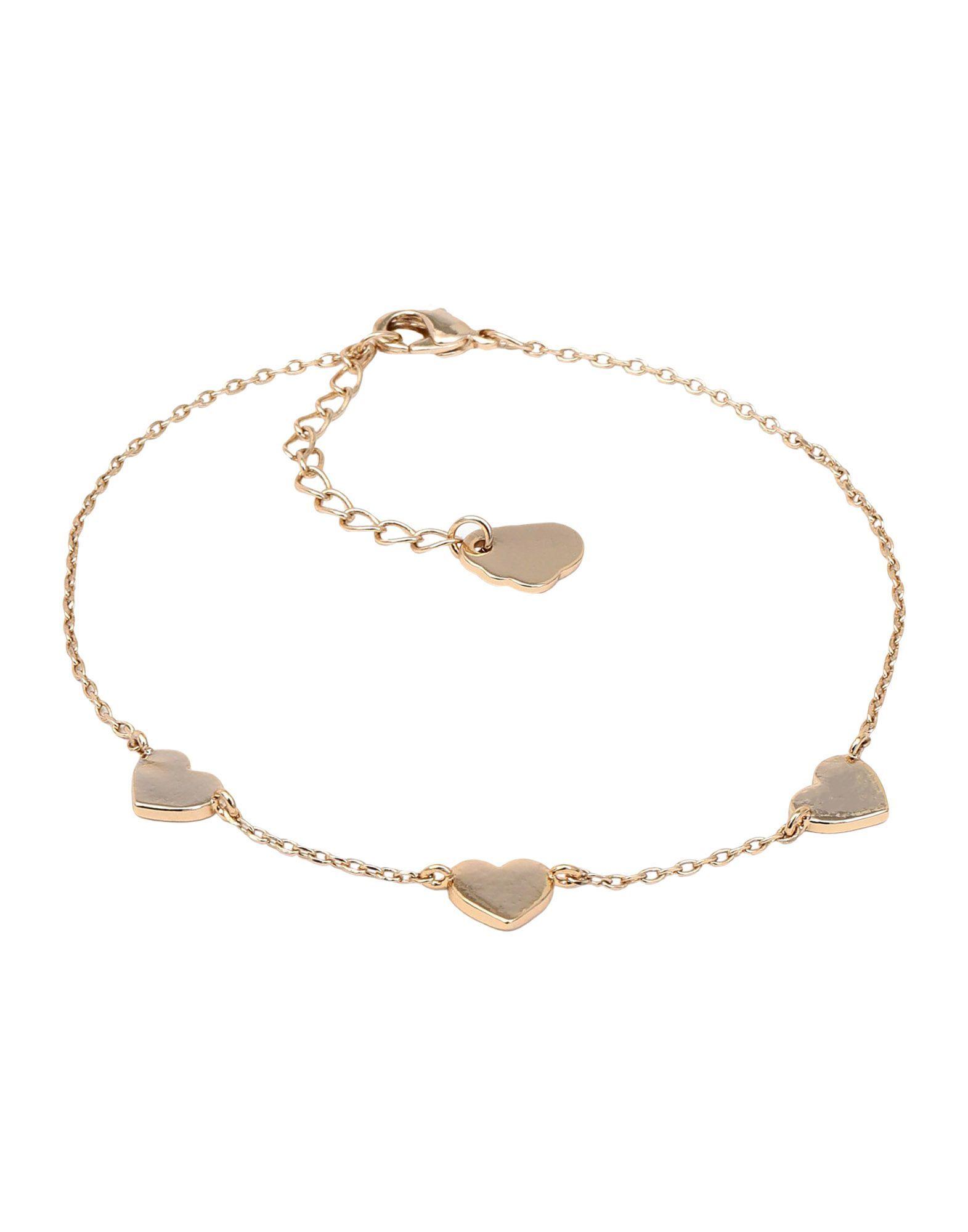 Estella Bartlett Gold Plated Heart Bracelet