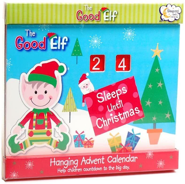 The Good Elf Hanging Advent Calendar