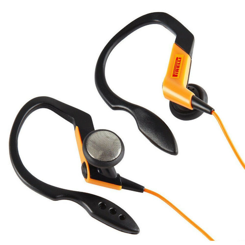 Pirelli Zero In-Ear Sports Headphones Black / Orange