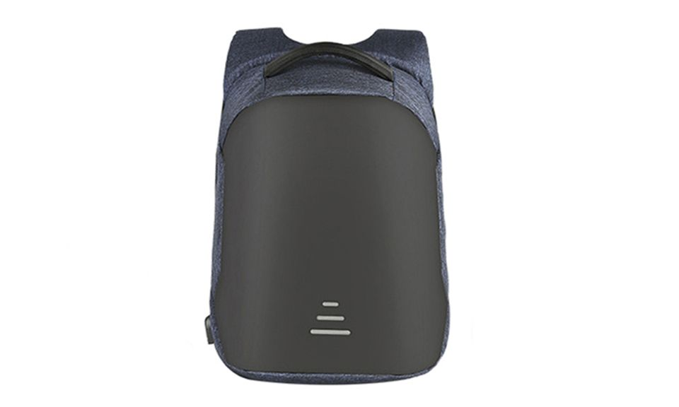 Aquarius Advanced Anti-Theft Backpack with USB Charging Port - Blue