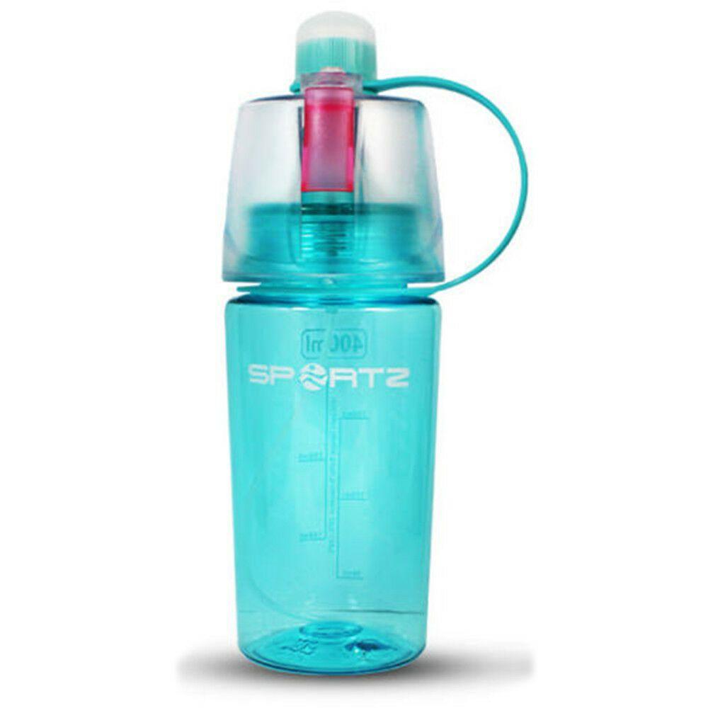 Aquarius Travel Sports Spray Water Bottle 400ml Blue