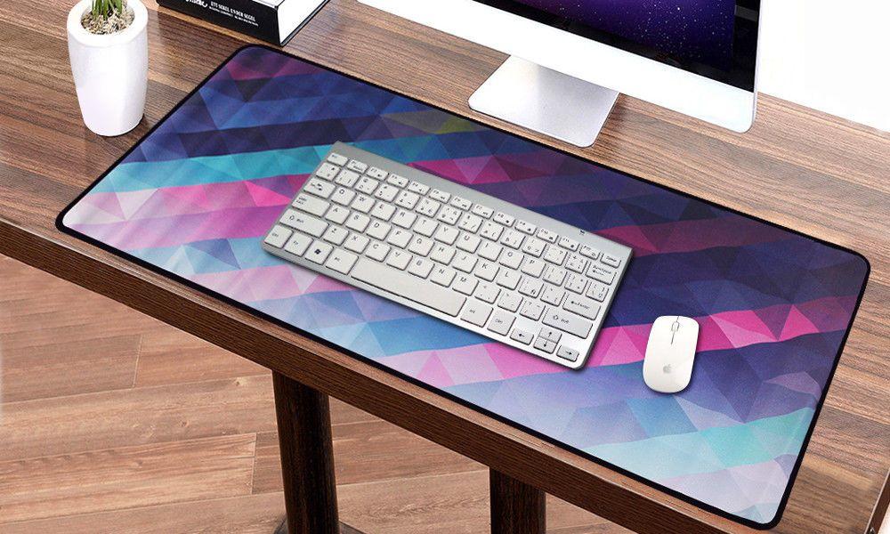 Kaleidoscope Anti-Slip Keyboard Mat Laptop Computer Extended Gaming Mouse Pad