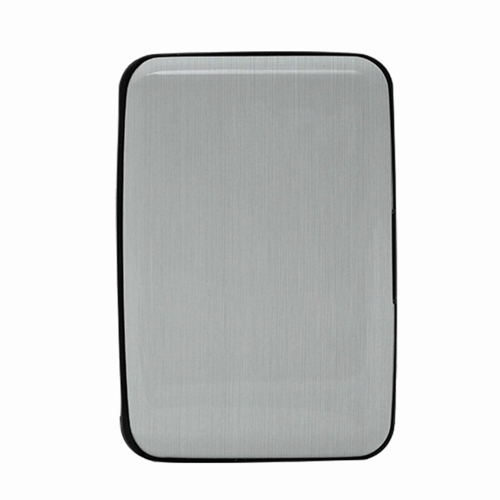 Aquarius Bank Wallet with RFID Card & Powerbank Silver