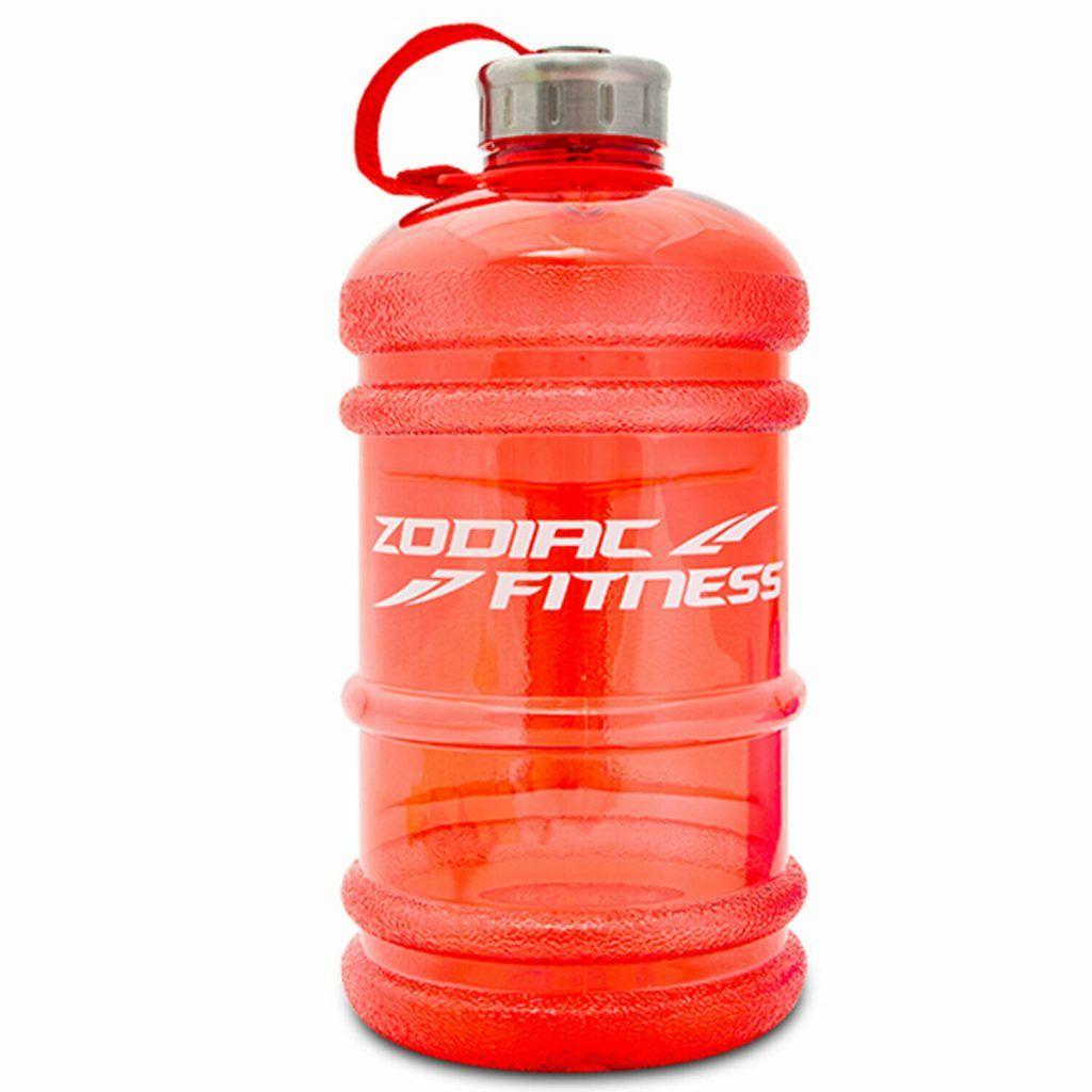 Aquarius Water Bottle 2.2L Red