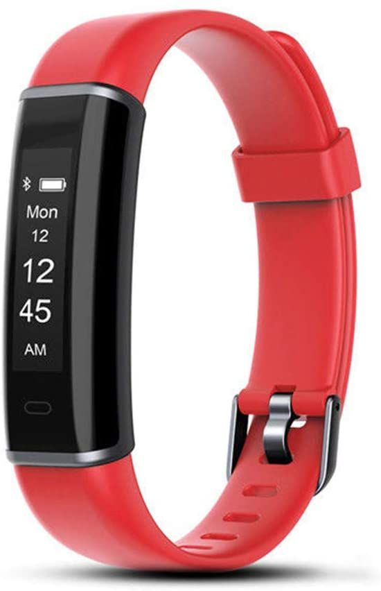 Aquarius AQ113 Waterproof Fitness Activity Tracker Red