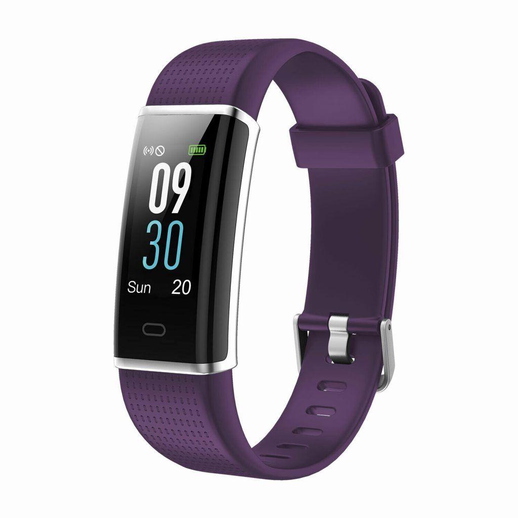 Aquarius AQ200 Multi-Functional Heart Rate & Sleep Monitor Tracker Purple