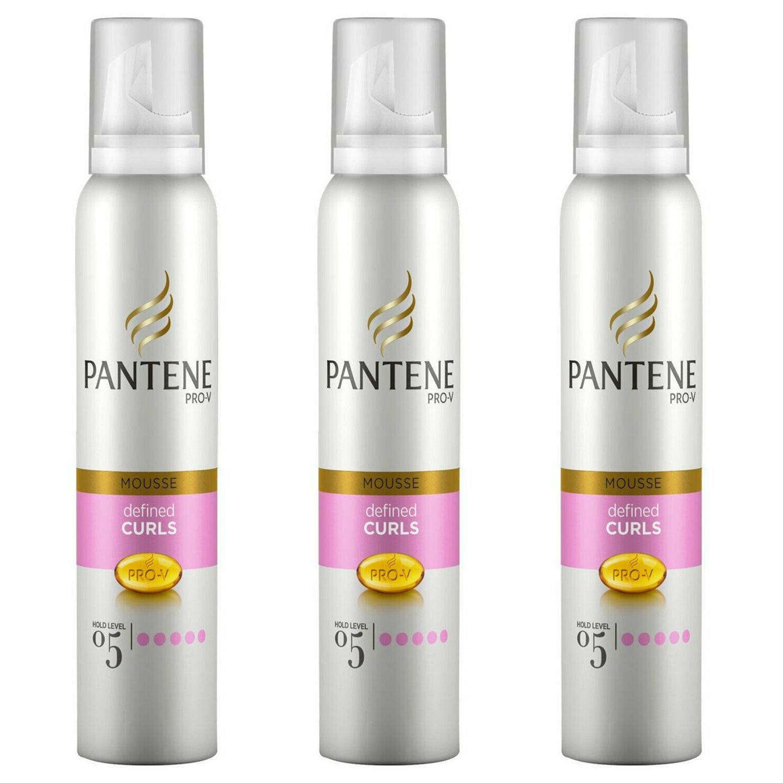 Pantene Mousse Curl Defining 3 x 200ml