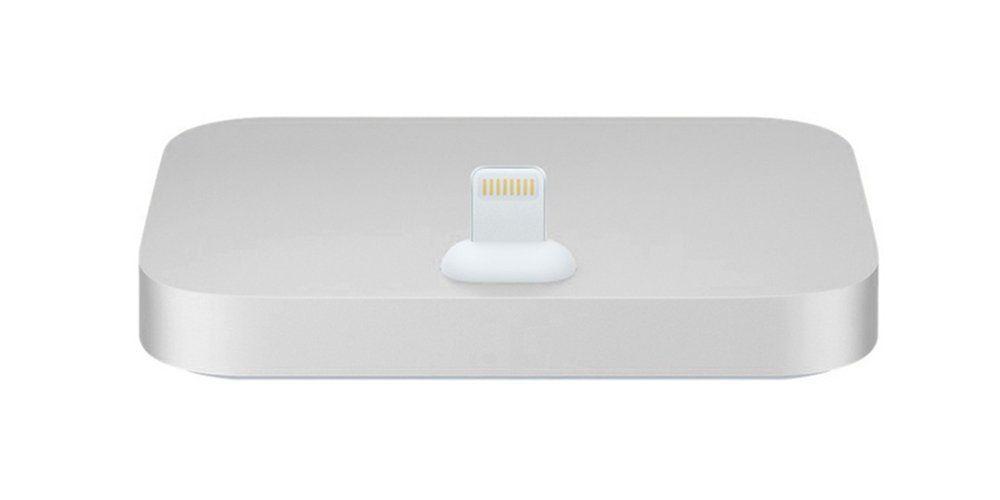 Aquarius Aluminium iPhone Dock Silver