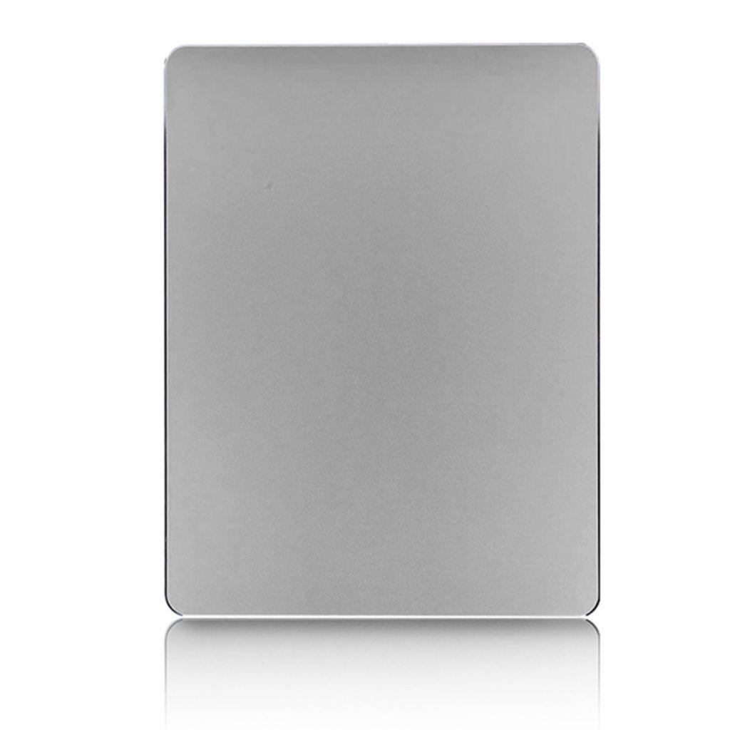 Aquarius Aluminium Non-Slip Mouse Mat - Silver