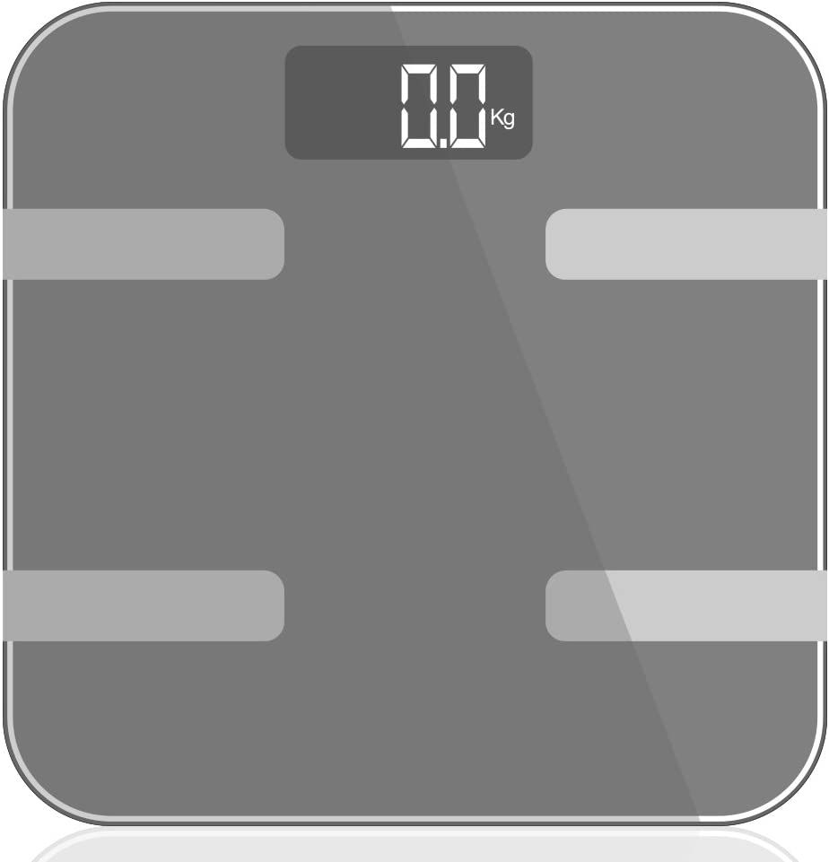9 in 1 Digital Bathroom Scale - Silver