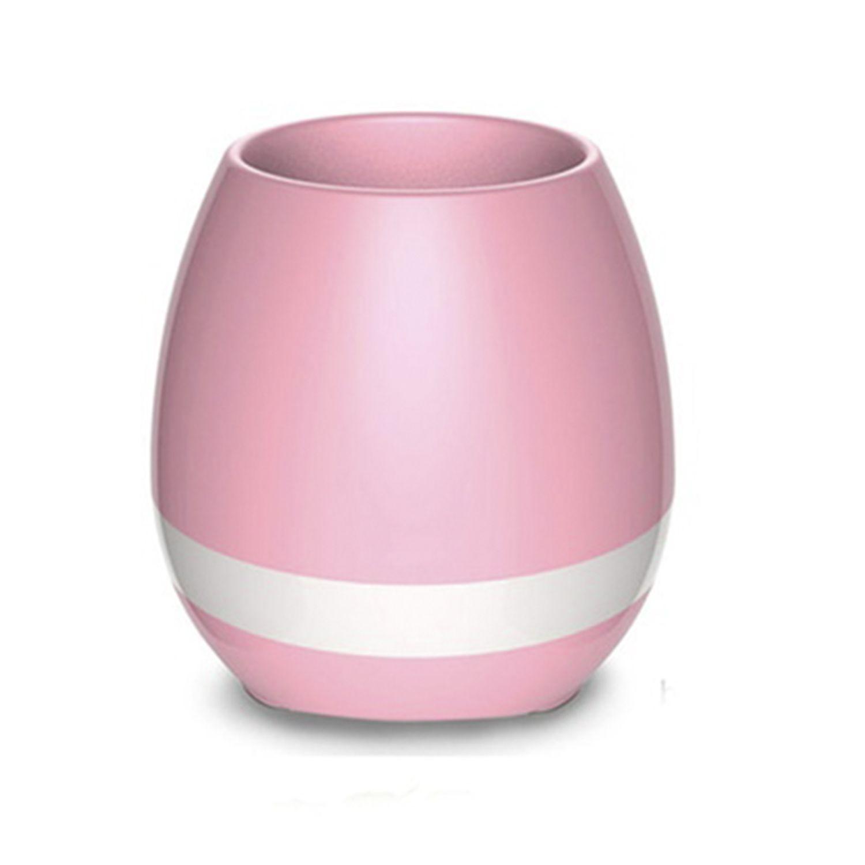 Debonair Music Flower Pot Speaker Pink