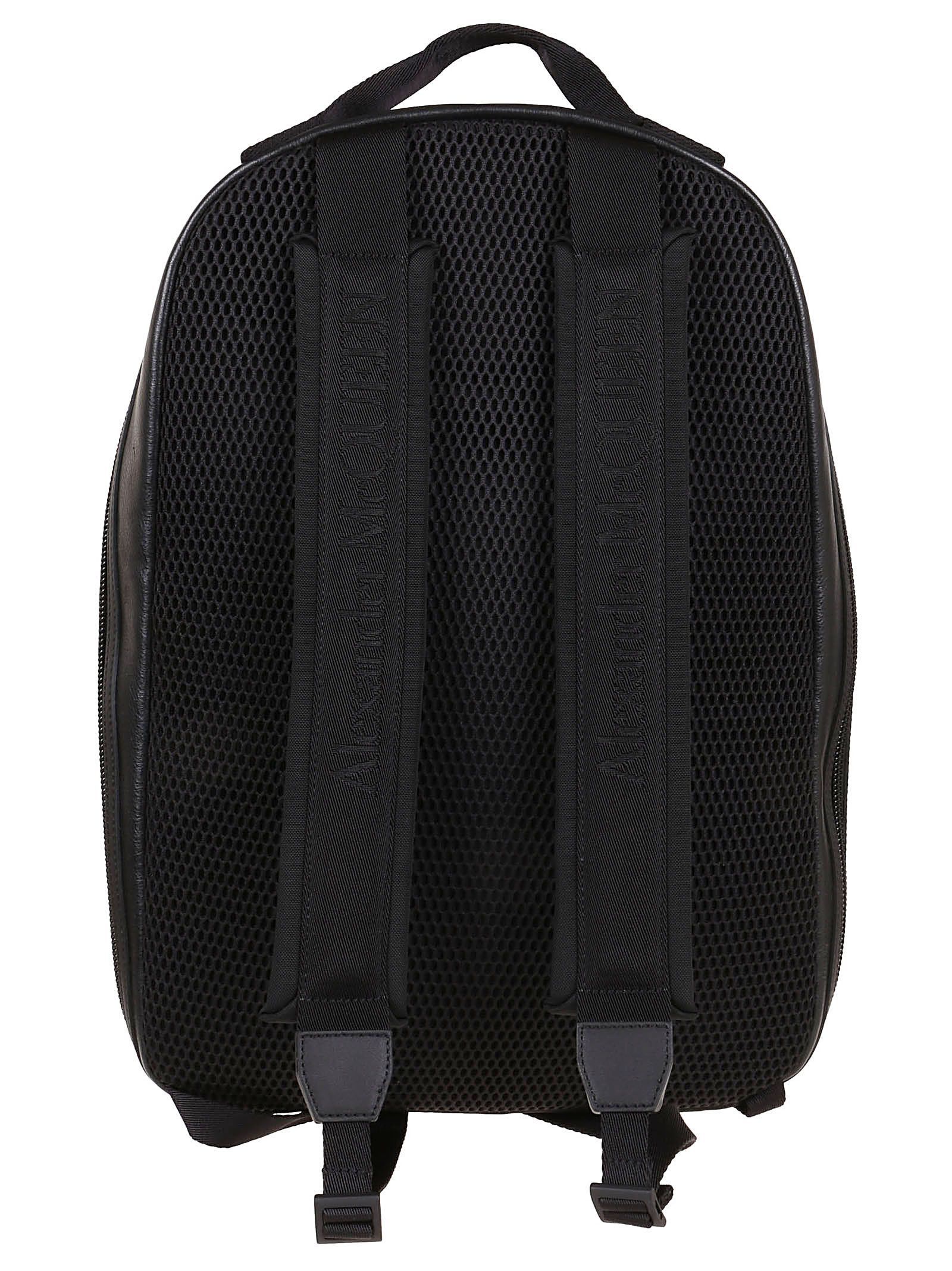 ALEXANDER MCQUEEN MEN'S 601151HV21K1000 BLACK SYNTHETIC FIBERS BACKPACK