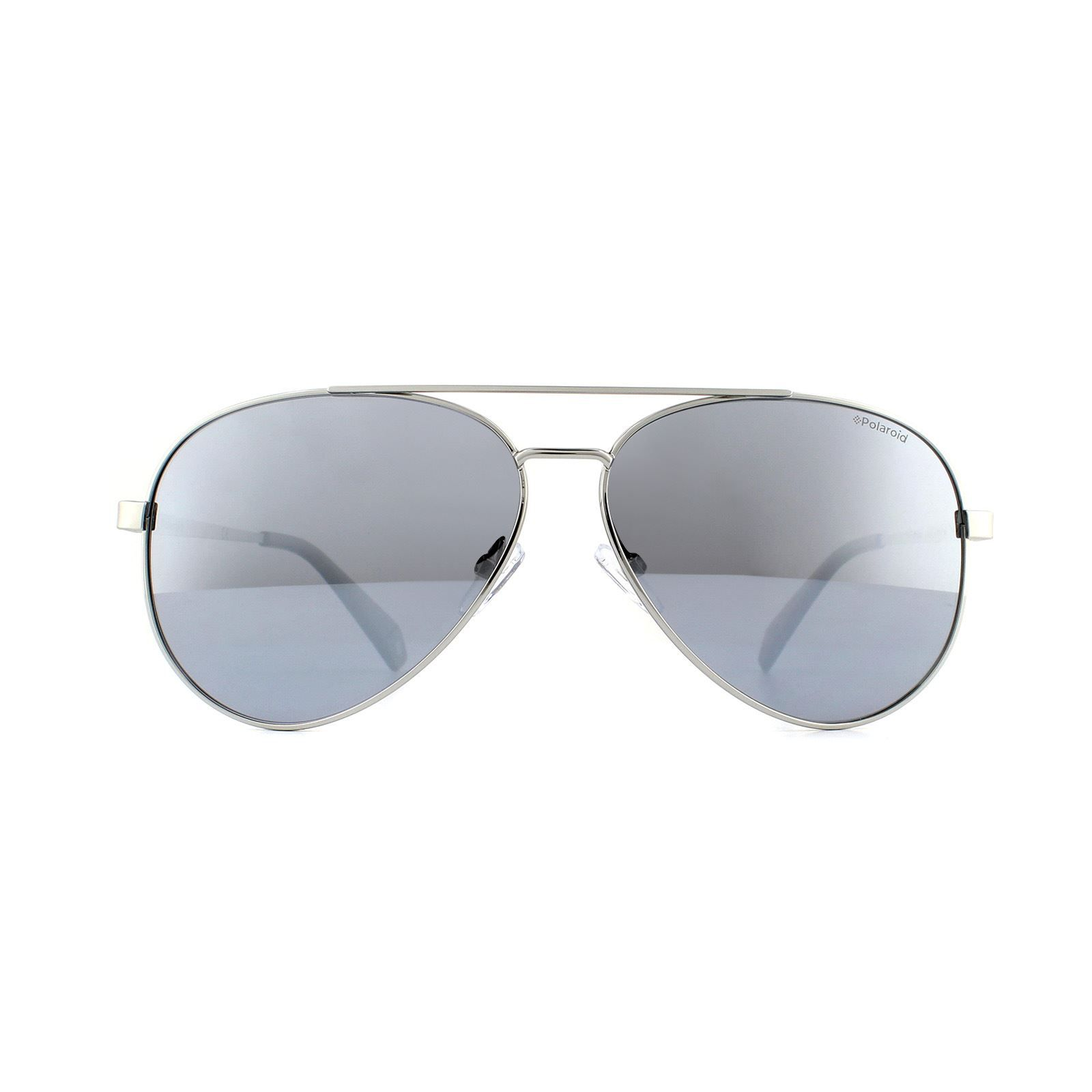 Polaroid Sunglasses PLD 6069/S/X YB7 EX Aviator Silver Grey Silver Mirror Polarized