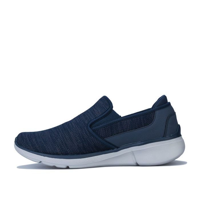 Men's Skechers Equaliser 3.0 Summin Slip on Trainer in Navy