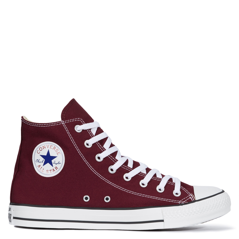 Converse All Star Unisex Chuck Taylor High Tops - Maroon