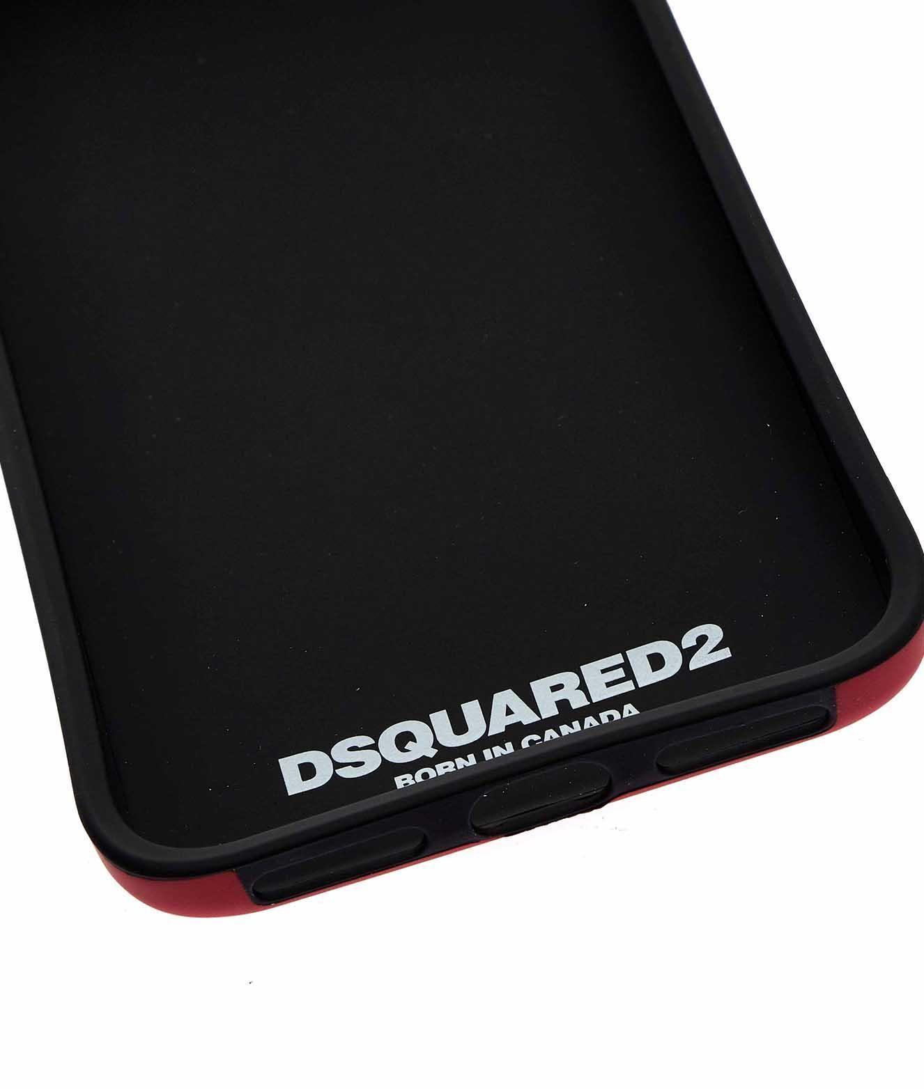 DSQUARED2 MEN'S ITM003855000001M818 RED PVC COVER