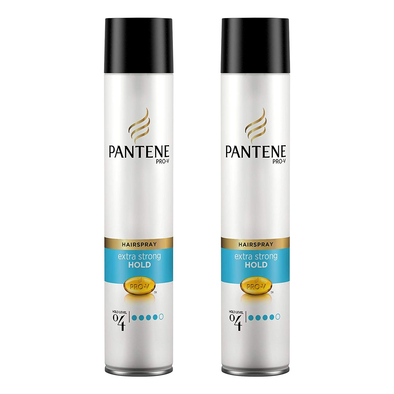 Pantene Hair Spray Extra Strong 2 x 300ml