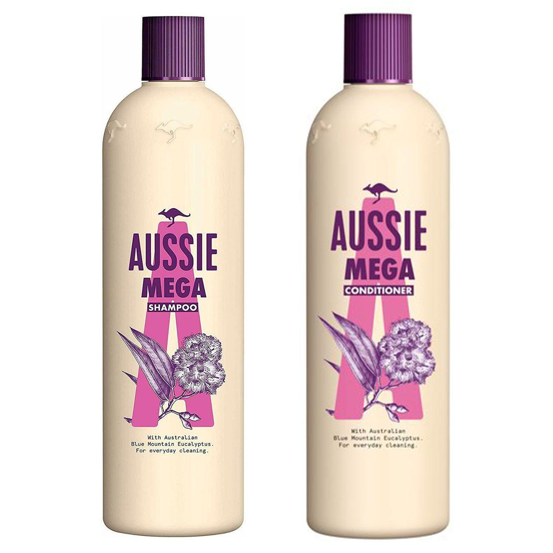 Aussie Mega Shampoo 500ml & Conditioner 400ml