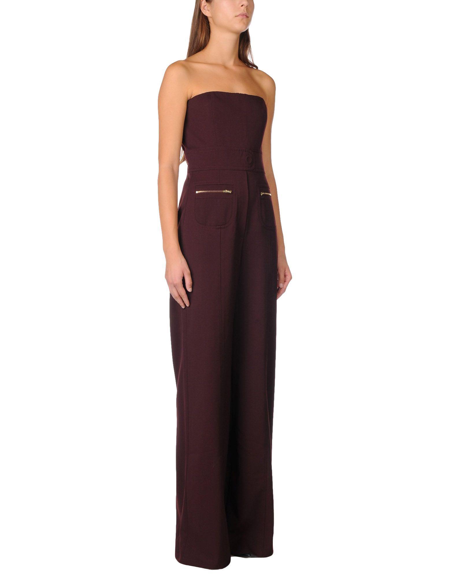DUNGAREES Maison Margiela Deep purple Woman Wool
