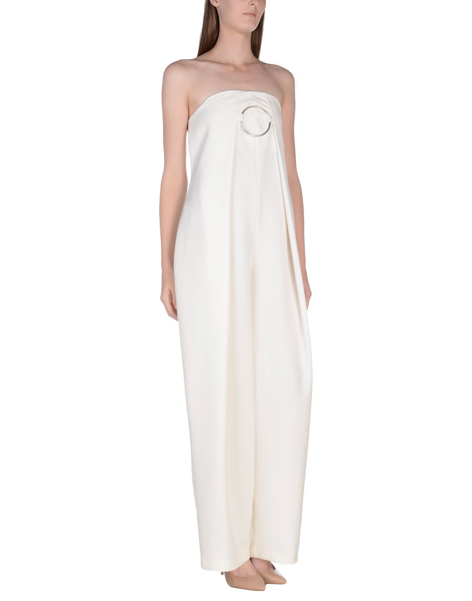 DUNGAREES Nora Barth Ivory Woman Polyester