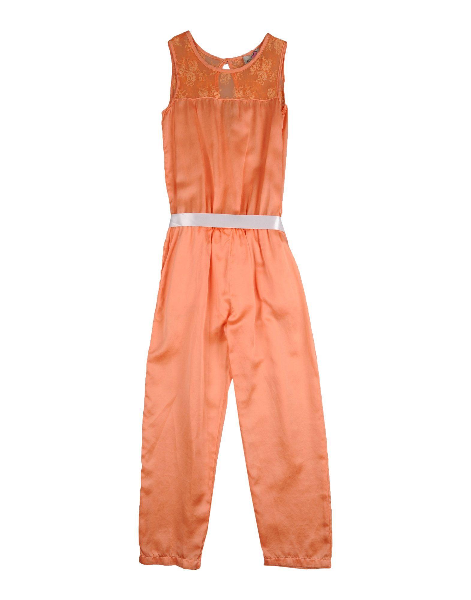 DUNGAREES Ki6? Pretty Orange Girl Polyester
