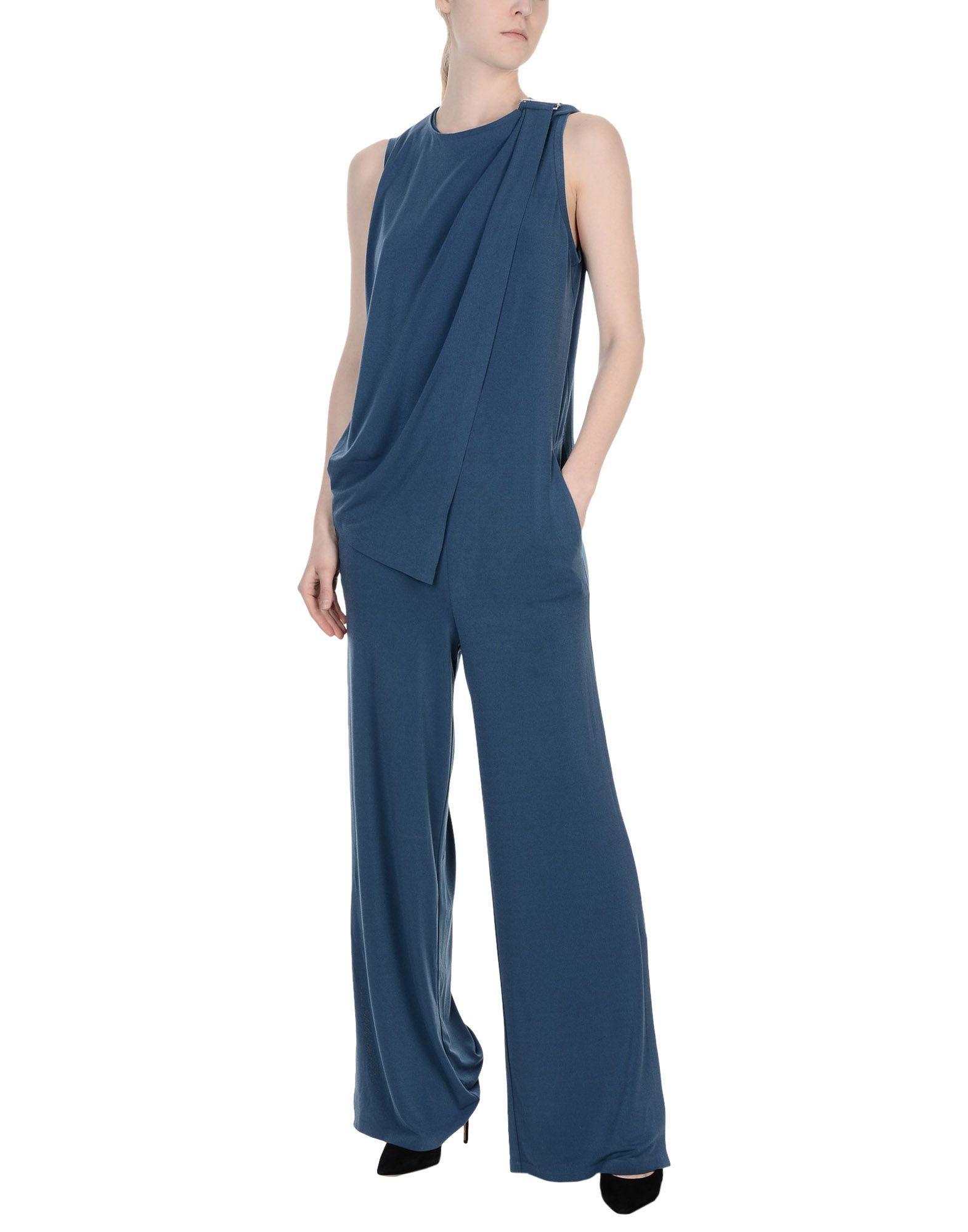 By Malene Birger Slate Blue Sleeveless Jumpsuit