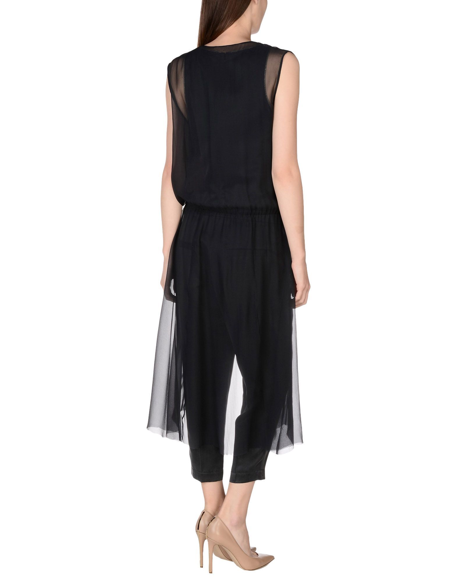 DUNGAREES Brunello Cucinelli Black Woman Silk