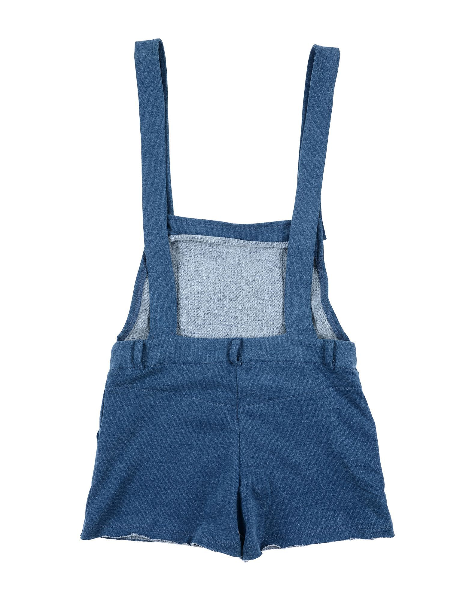 DUNGAREES Girl Kith Blue Cotton