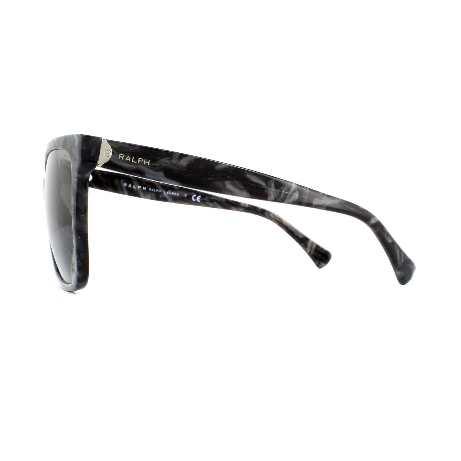 Ralph by Ralph Lauren Sunglasses RA5251 573611 Black Marble Grey Gradient