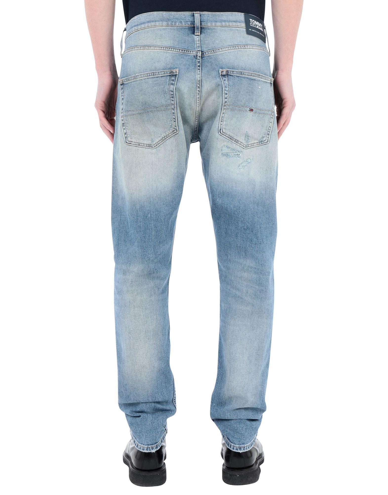 Tommy Jeans Man Denim trousers Cotton