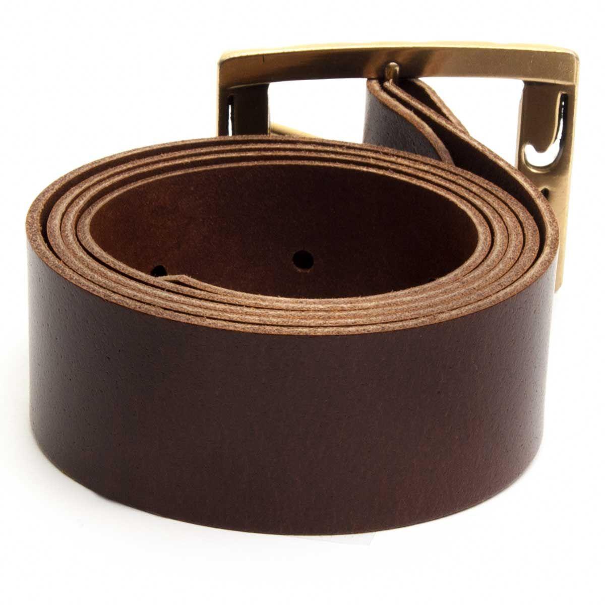 Montevita Casual Quality Belt in Camel