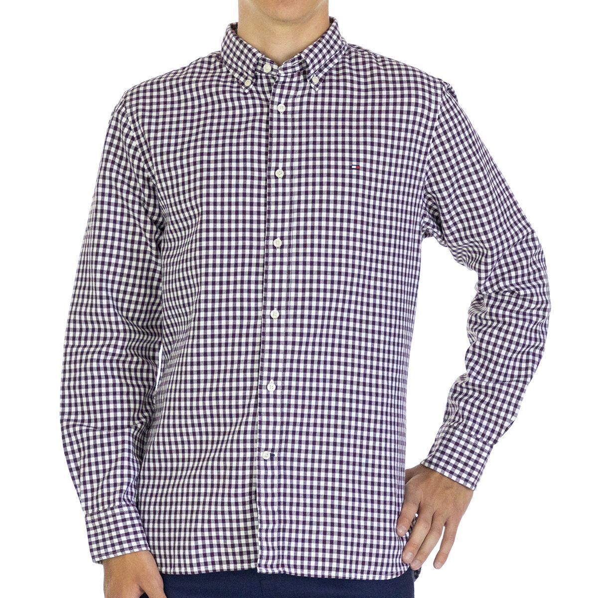 Tommy Hilfiger Men Shirt Regular fit  Full sleeve Multicolor