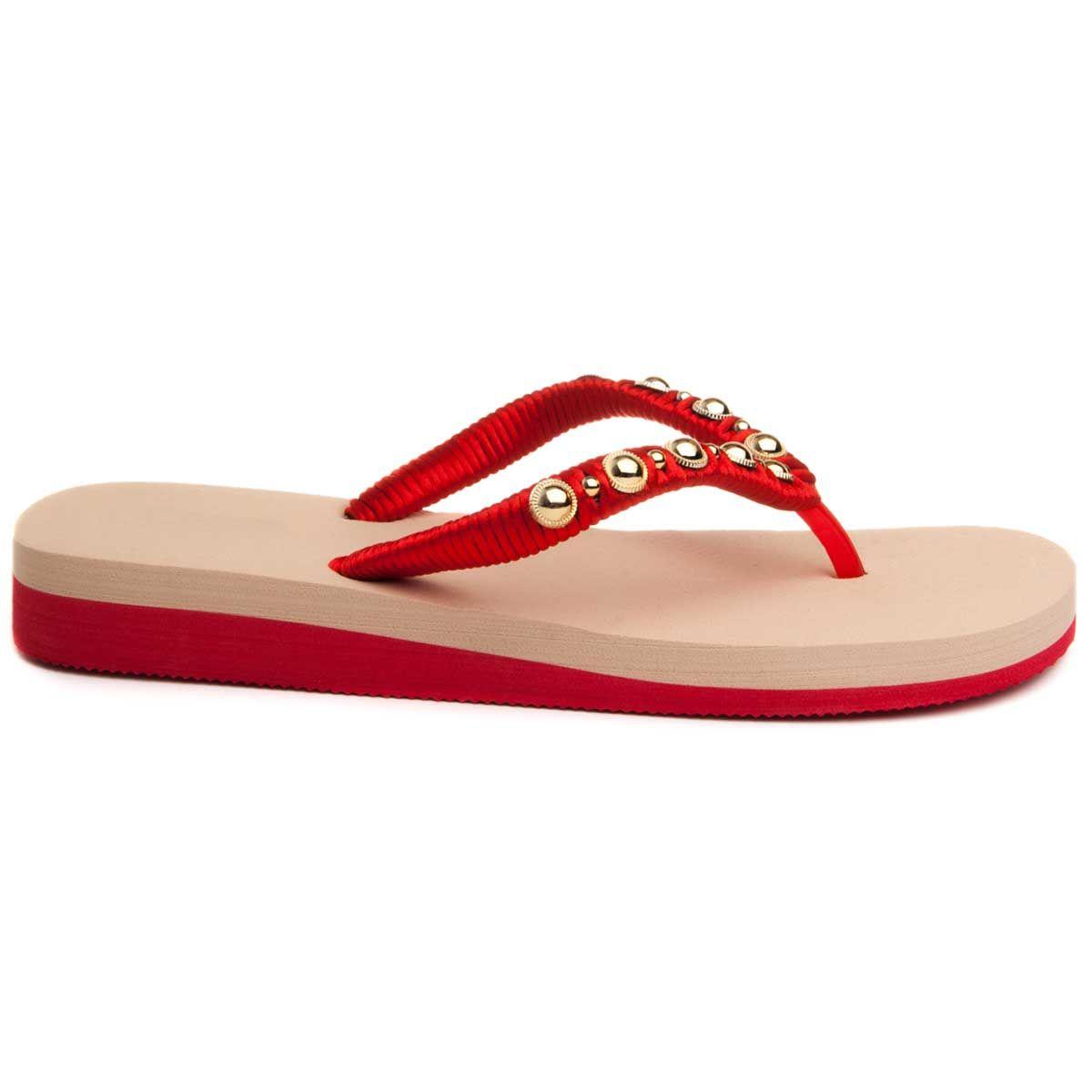 Montevita Flip Flop in Red