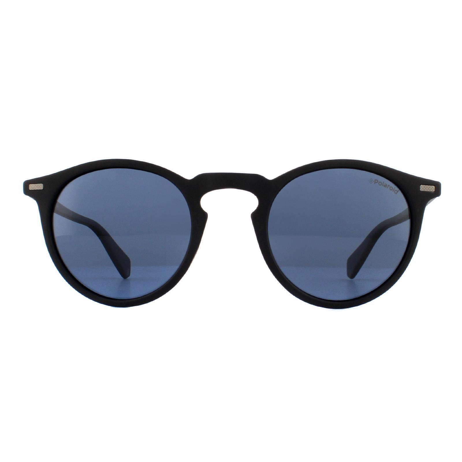Polaroid Sunglasses PLD 2086/S 003 C3 Matte Black Grey Polarized