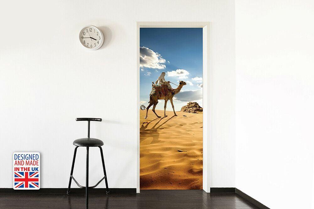 Roaming The Desert Self-Adhesive Door Mural Sticker For All Europe 90Cm X 200CM