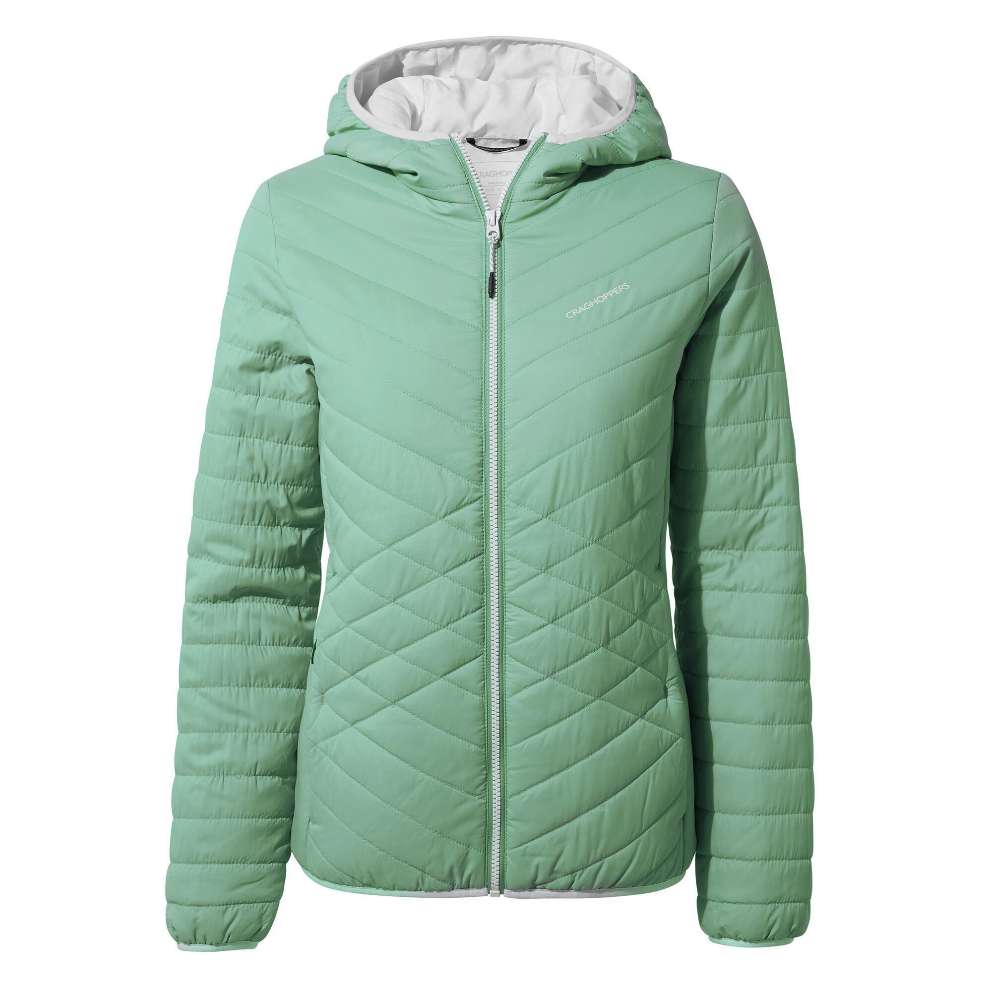 Craghoppers Womens/Ladies Compresslite IV Hooded Jacket (Sea Breeze)