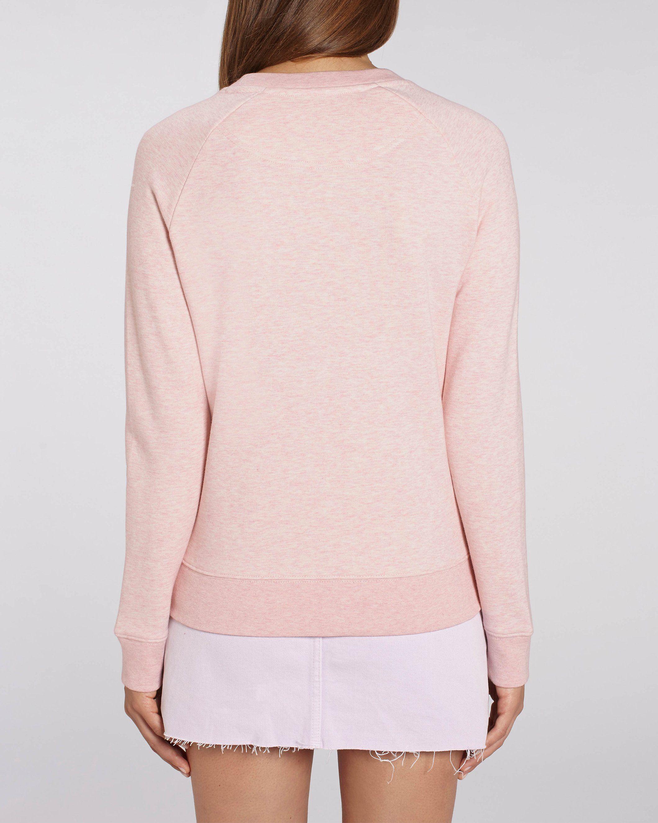 Maum Women's Crew Neck Sweatshirt in Pink