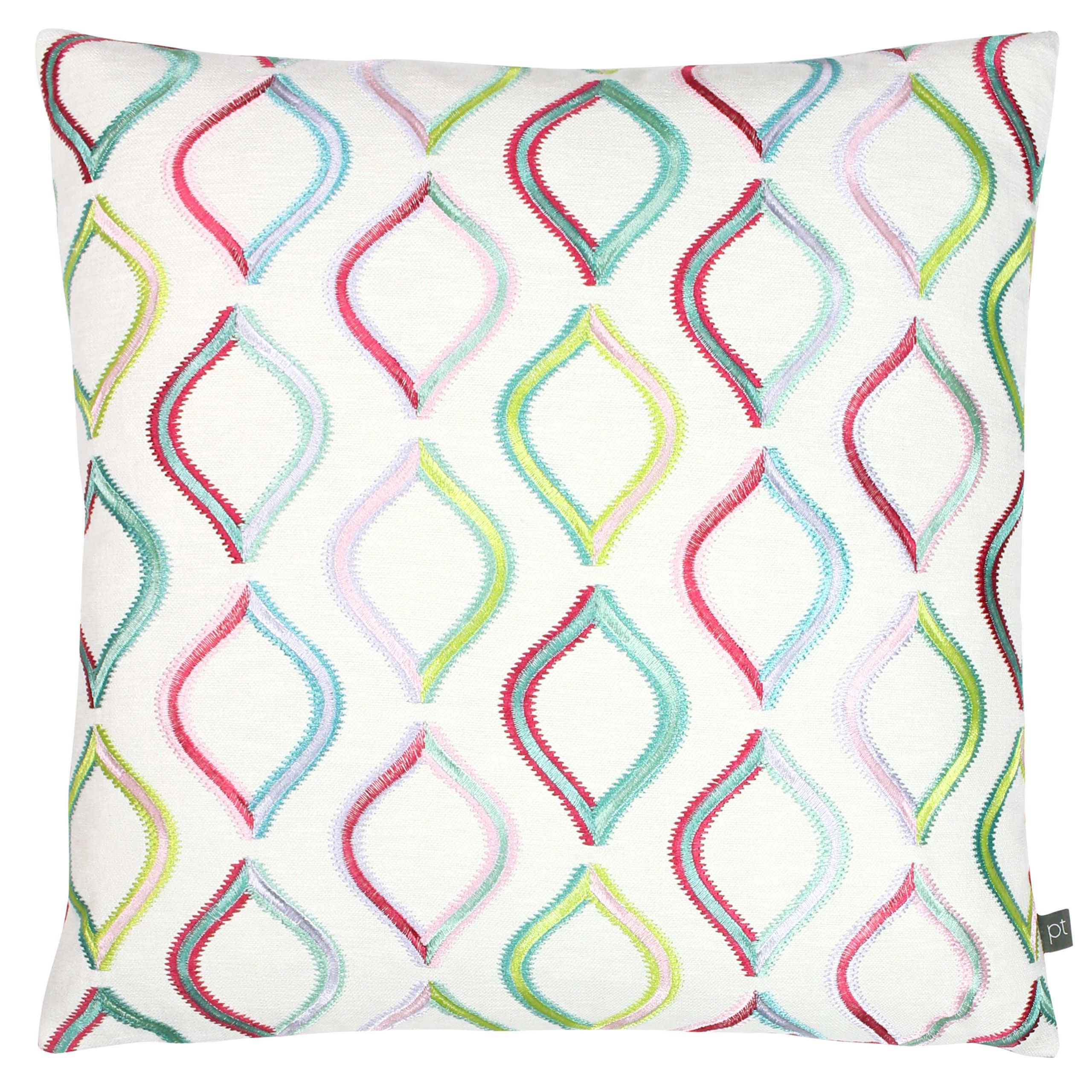 Prestigious Textiles Spinning Top Polyester Filled Cushion Cover, Polyester, Acrylic, Rainbow