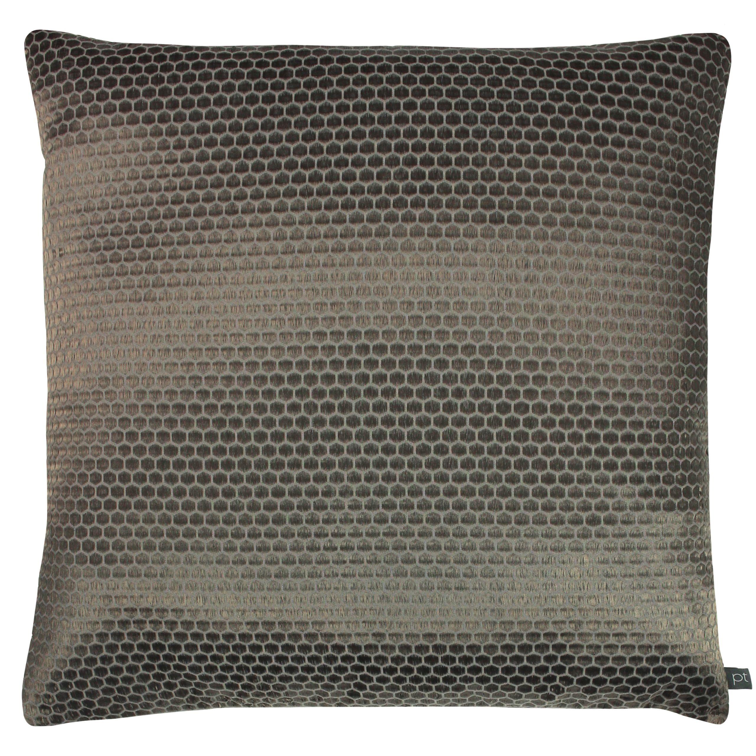 Prestigious Textiles Emboss Polyester Filled Cushion, Polyester, Cotton, Moleskin