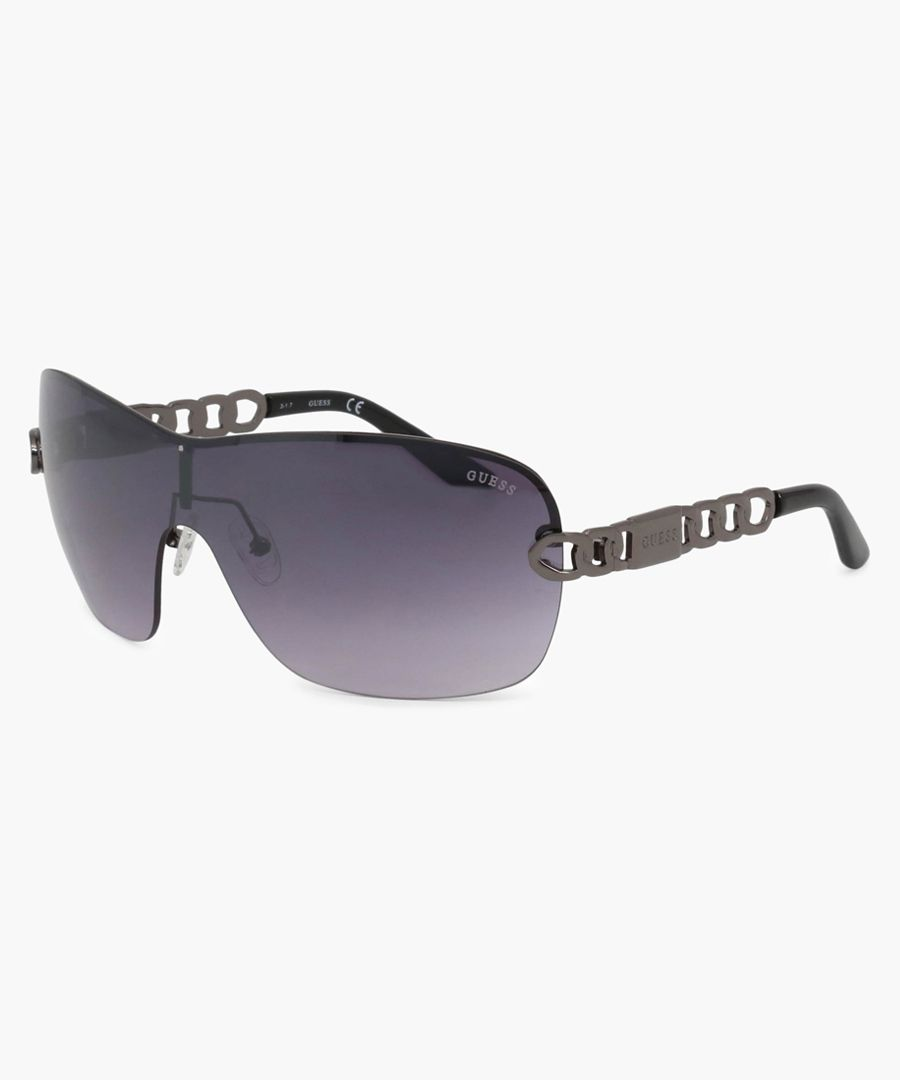Guess Sunglasses black lens, black frame