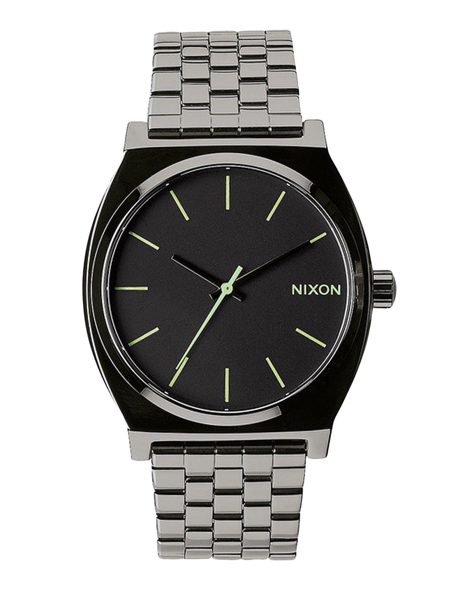 TIMEPIECES Unisex Nixon Steel grey Stainless Steel