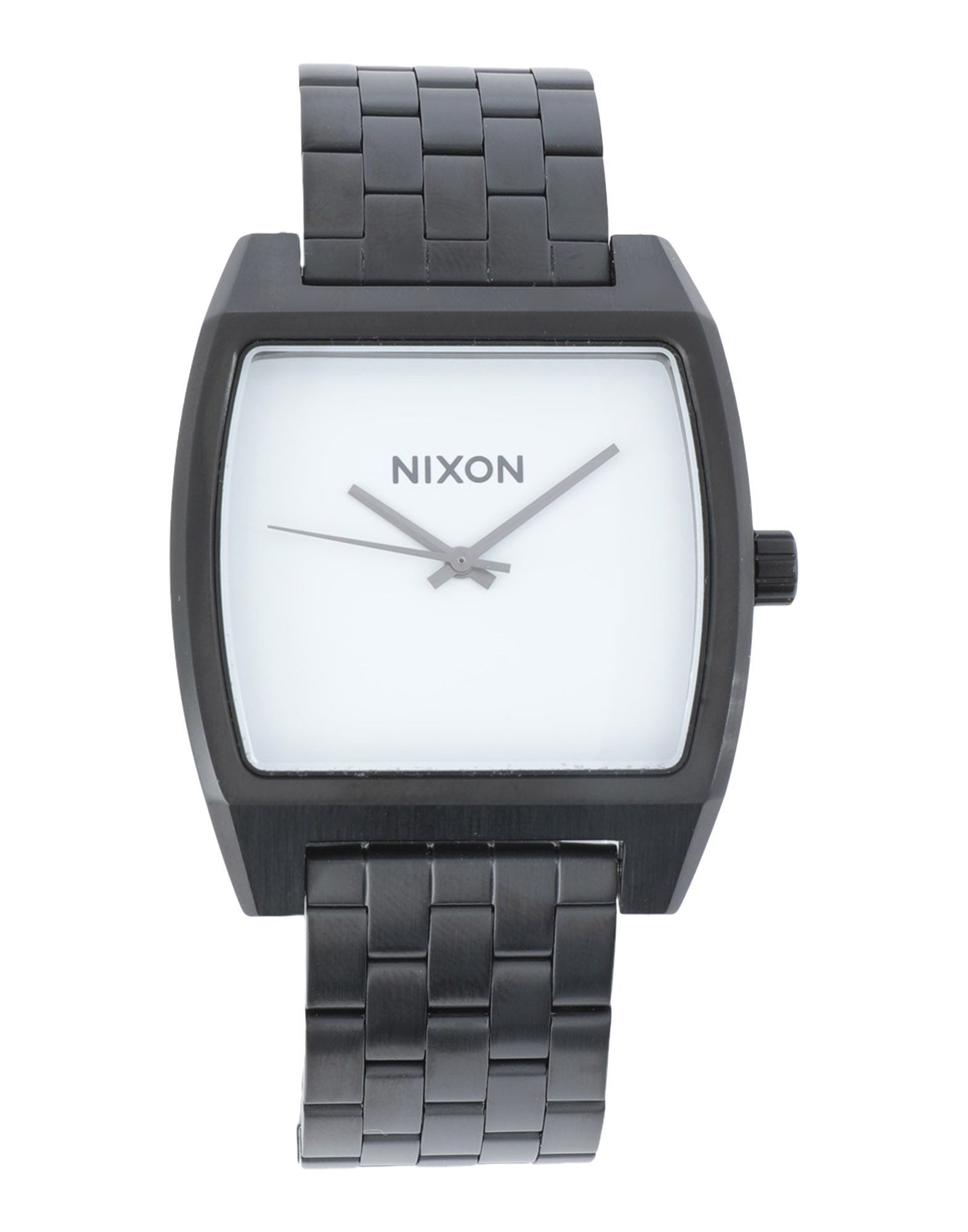TIMEPIECES Unisex Nixon White Stainless Steel