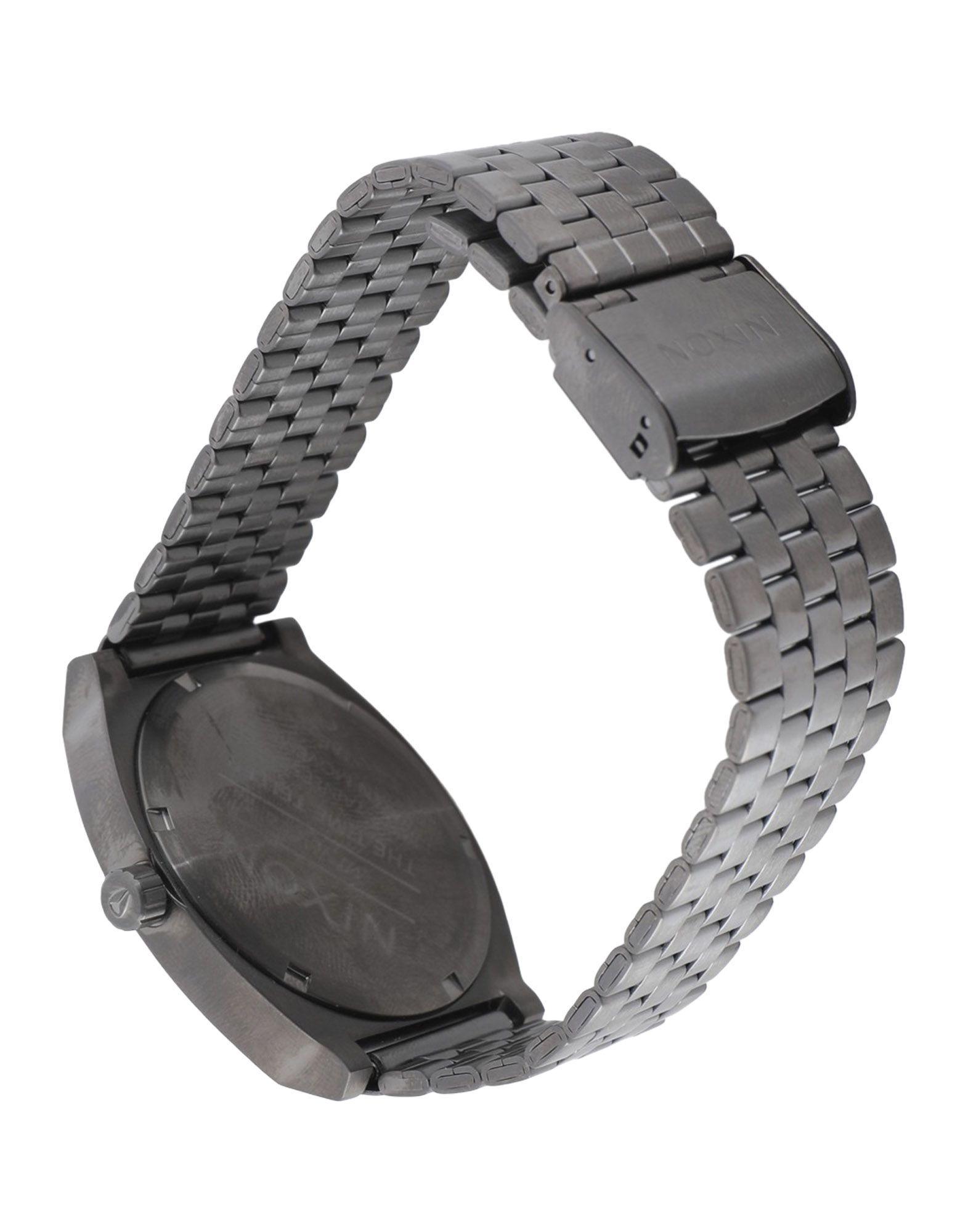 TIMEPIECES Unisex Nixon Dark blue Stainless Steel