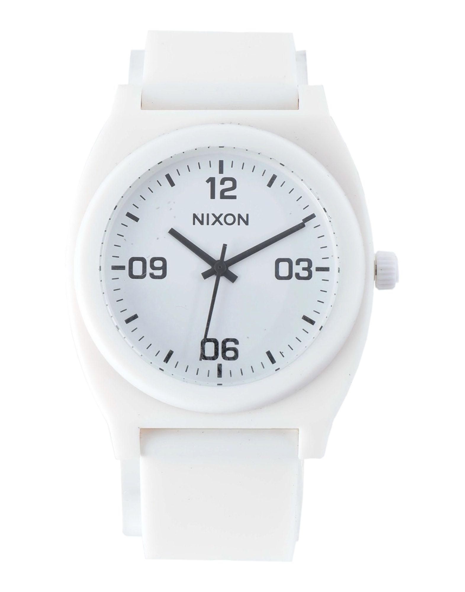 Nixon White Water Resistant Analogue Watch