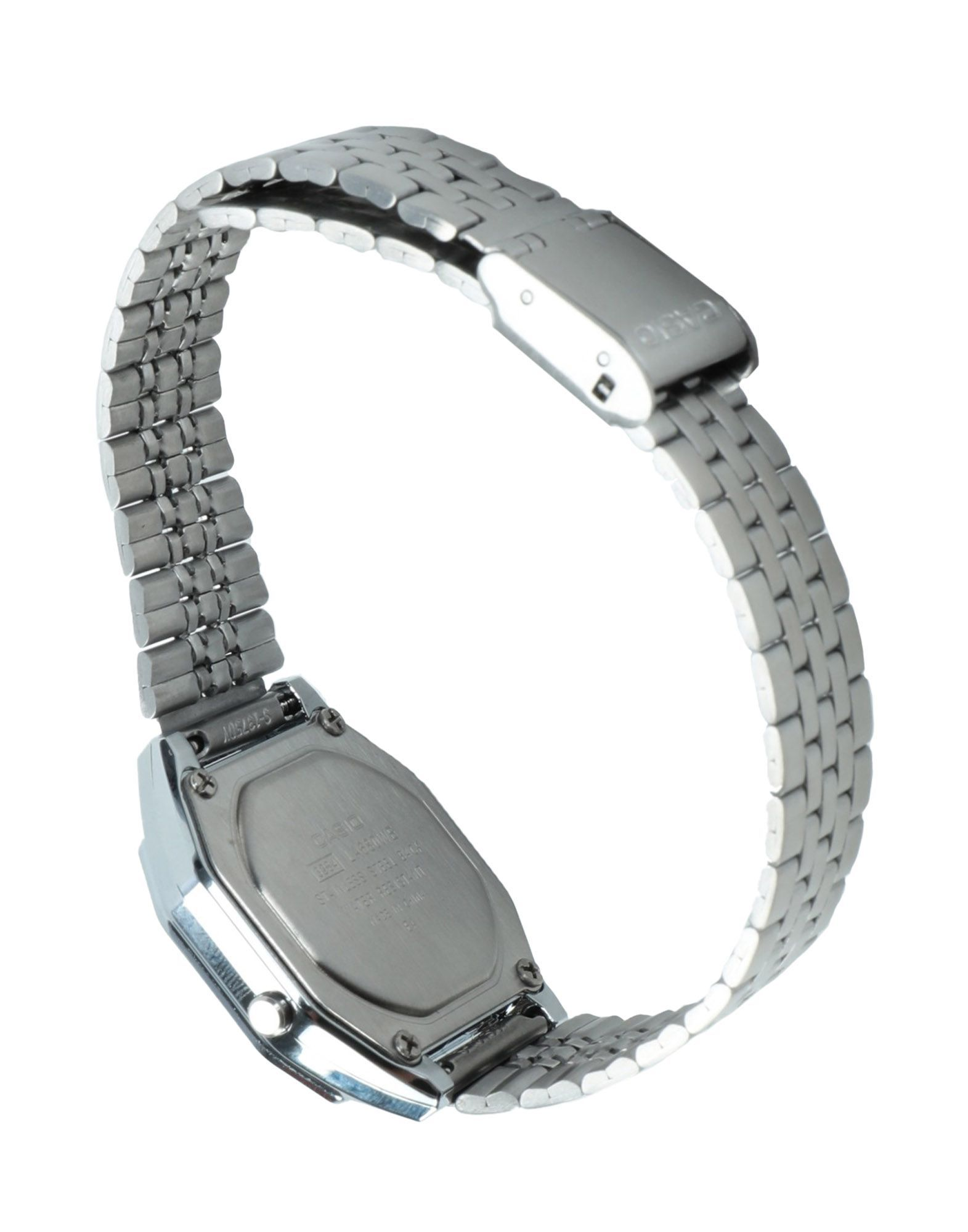 Casio Silver Stainless Steel Water Resistant Digital Watch
